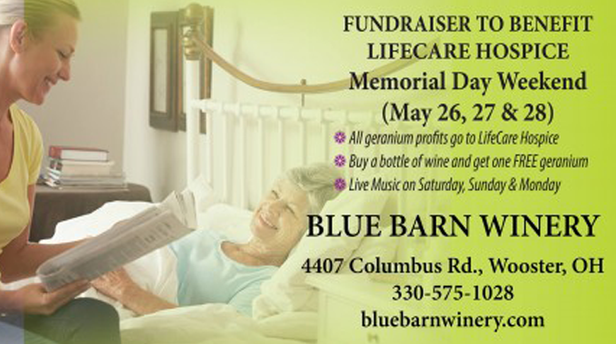 Blue Barn Winery Fundraiser To Benefit LifeCare Hospice