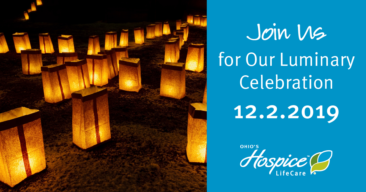 Ohio's Hospice LifeCare To Host Luminary Celebration To Honor And Remember Loved Ones