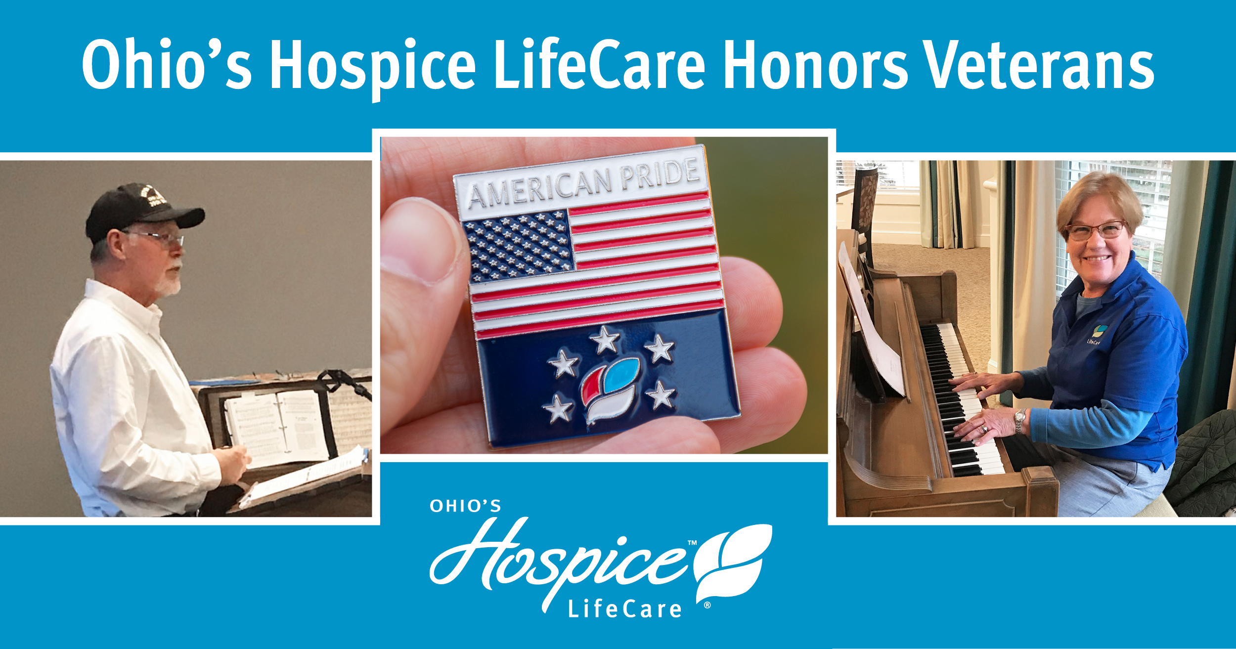 Ohio's Hospice LifeCare Honors Veterans