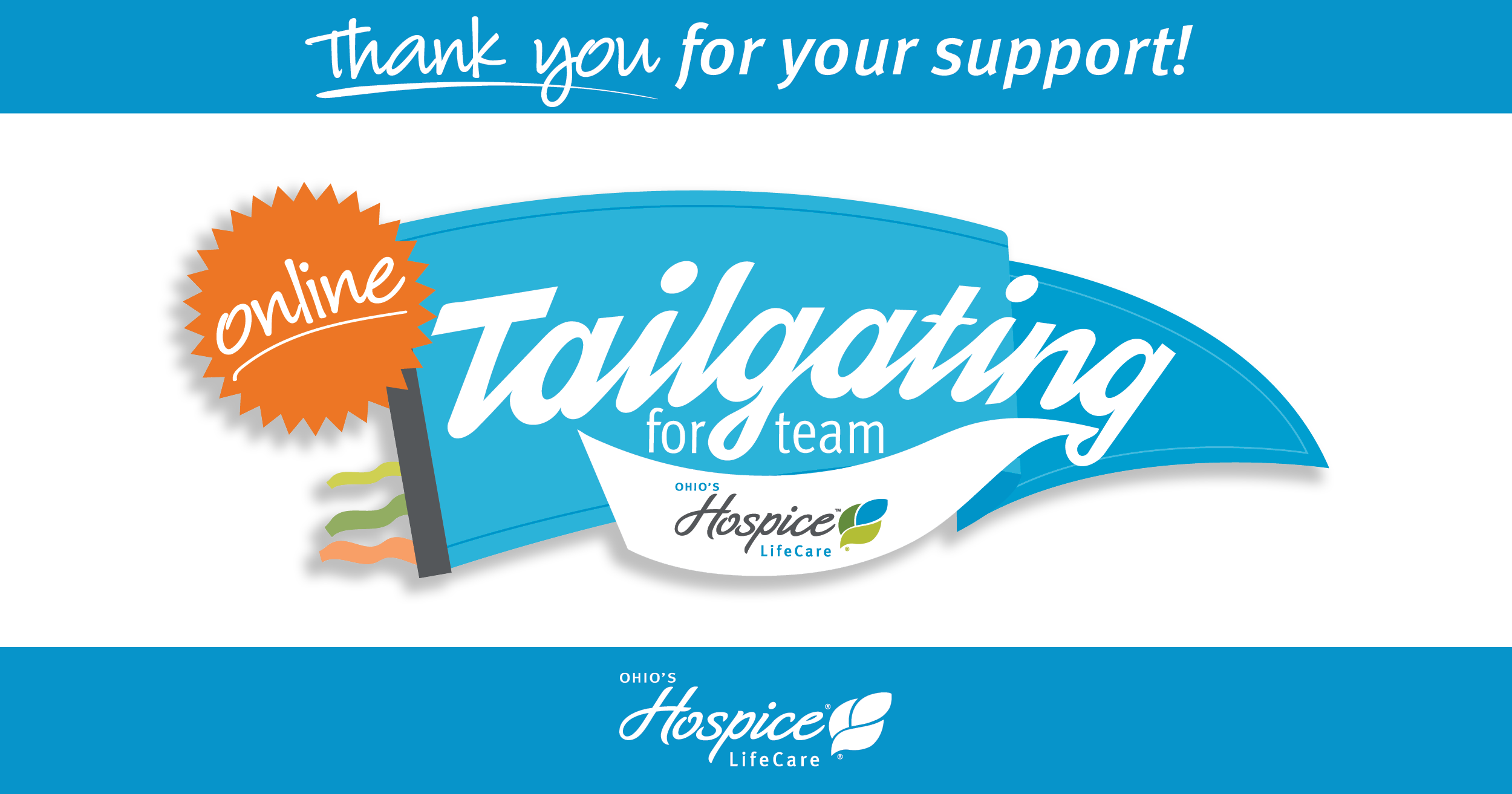 Thank You For Your Support! Tailgating For Team LifeCare