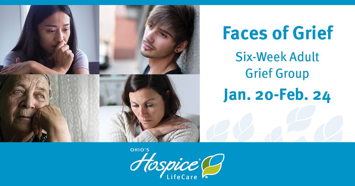 Ohio's Hospice LifeCare Offers Six-Week Adult Grief Group Beginning Jan. 20