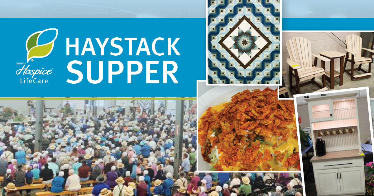 Haystack Supper Set For May 7 At Mt. Hope Event Center